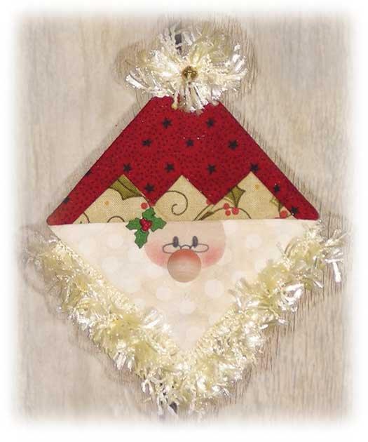 761- Peppermint Cheesecake Santa