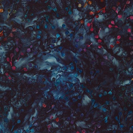 20352-69 Midnight / Nature's Canvas Artisan Batiks