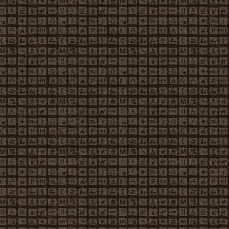 8783 Dark Brown - National Parks / Signs