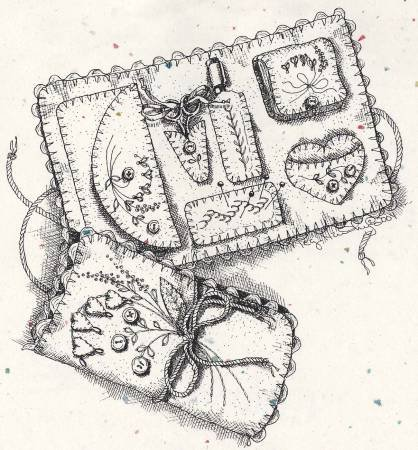 Arlyns Embroidery Envelope- Pattern