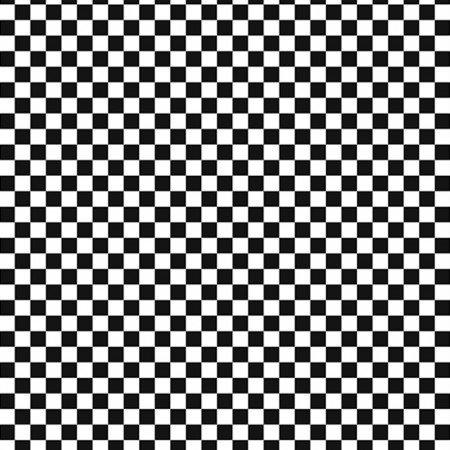 Check-C6799 - Black