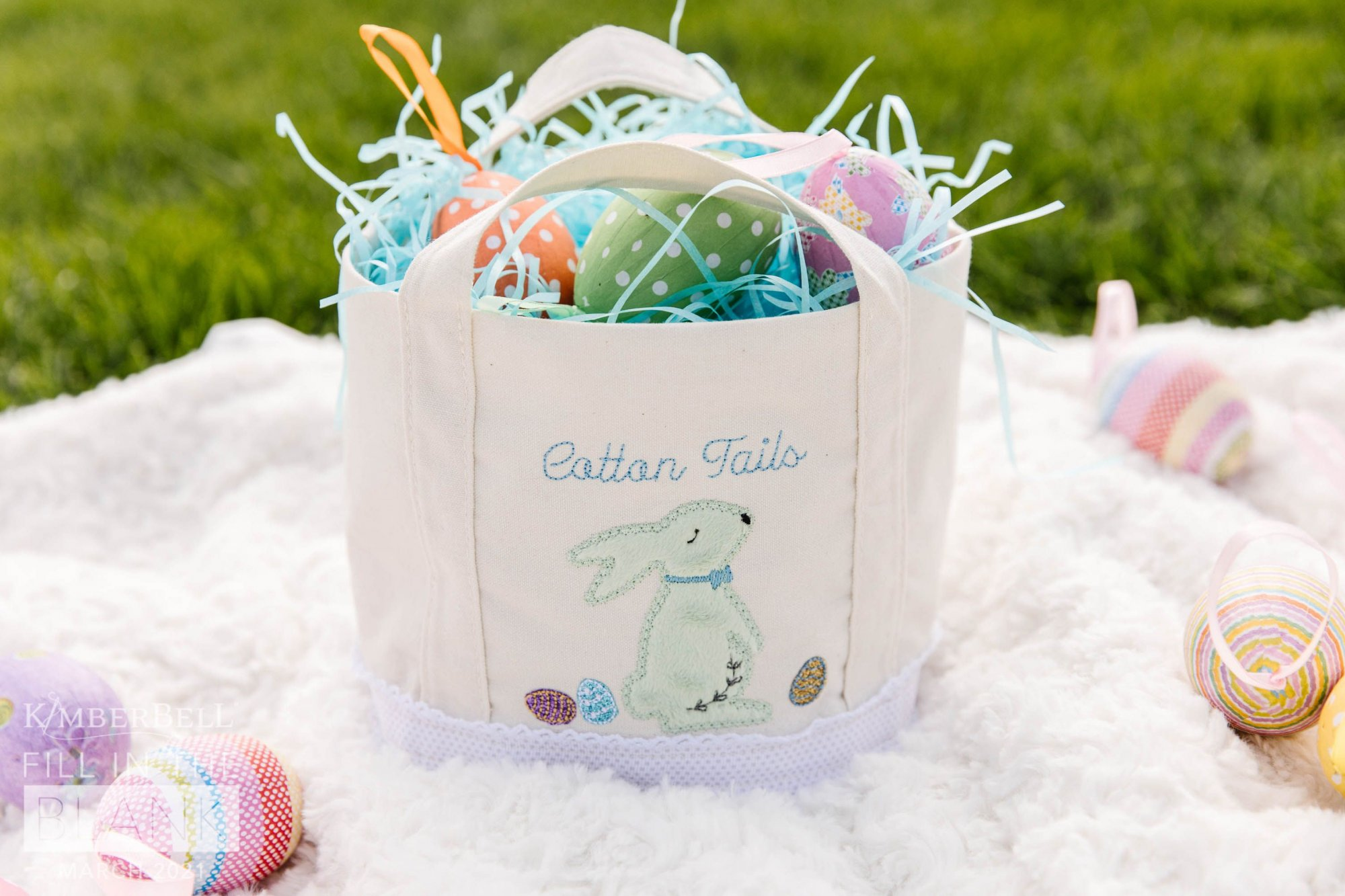 Fill In The Blank - Canvas Tote - Bunny Baskets
