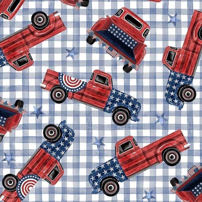 9702-DENIM Land that I Love / Freedom Trucks - Denim
