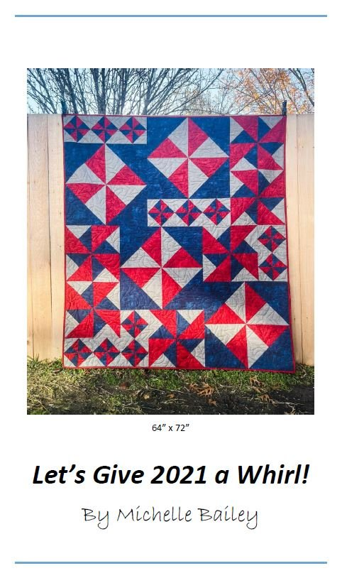 Let's Give 2021 a Whirl! Pattern by Michelle Bailey