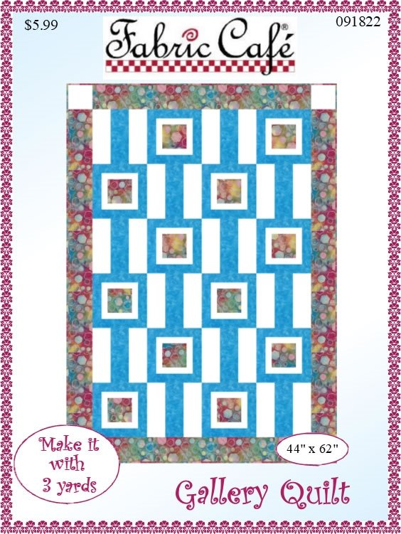 Gallery Quilt - 3 Yard Pattern