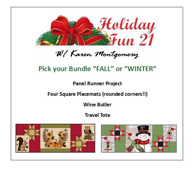 PRE-ORDER Holiday Fun 2021 Bundle - FALL
