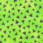 Y0841-18M -LB Basic Triangle - Lime Metallic