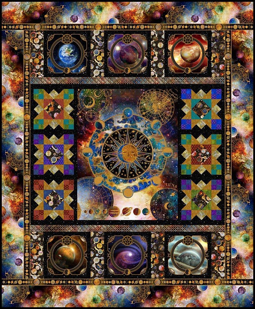 Cosmos Quilt Kit 75.5 x 91.5