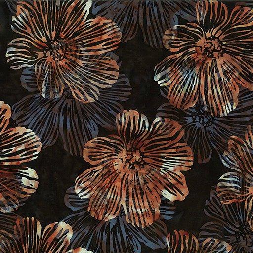 Bali Batik - R2278-617 - Stylized Floral Organics