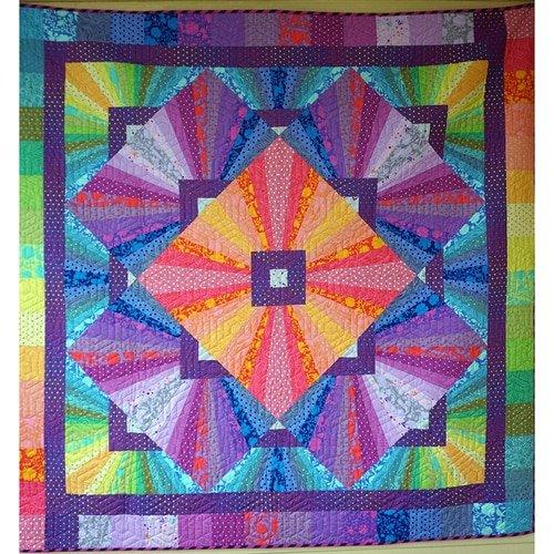 PRE-ORDER Solar Flare Quilt Kit - True Colors