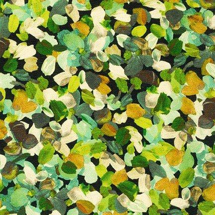 20265-49 Olive / Painterly Petals