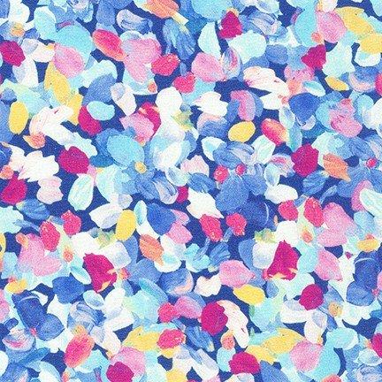 20265-61 Periwinkle / Painterly Petals