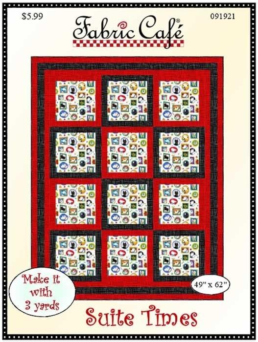 Suite Times Quilt - 3 Yard Pattern