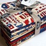 Fat Quarter Bundle American Honor - 13 Pieces