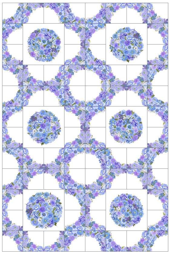 Karen's Garden Trellis Pattern