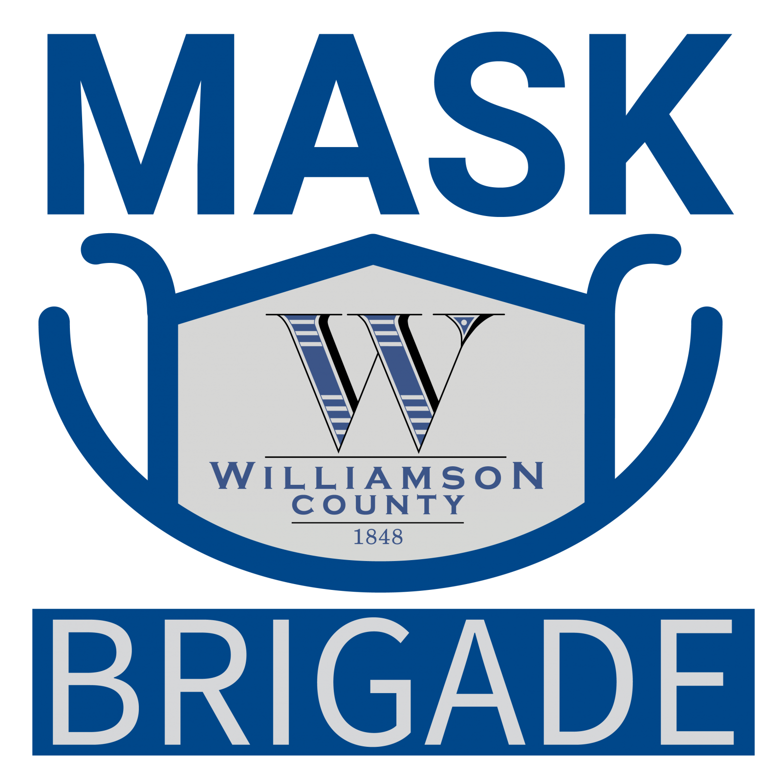 Williamson County Mask Brigade Fabric 20% OFF