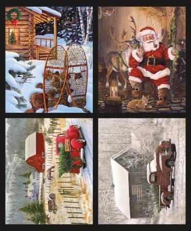 Christmas Memories - Pillow Panels