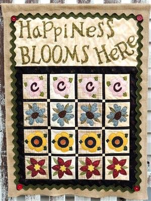 Happiness Blooms Here