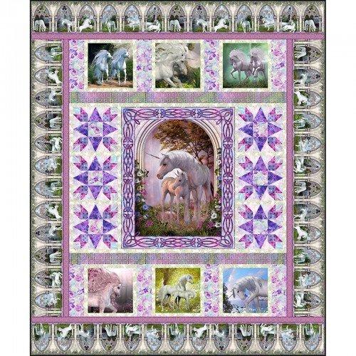 Unicorn Quilt Pattern