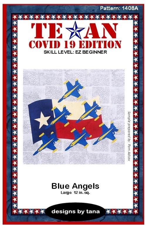 Texan Covid 19 Edition Blue Angels