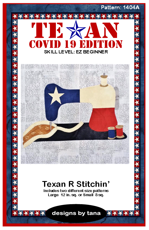 Texan Covid 19 Edition Texan R Stitchin