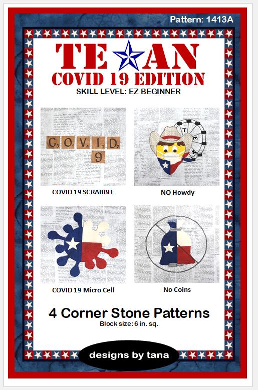 TX Covid 19 Ed 4 Corner Stone Pattern