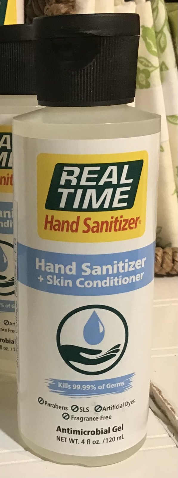 Real Time 4oz Hand Sanitizer