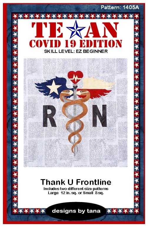 Texan Covid 19 Edition Thank U Frontline Kit