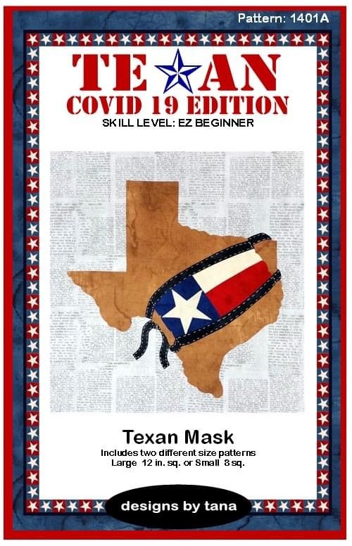 TX Covid 19 Ed Texan Mask Kit