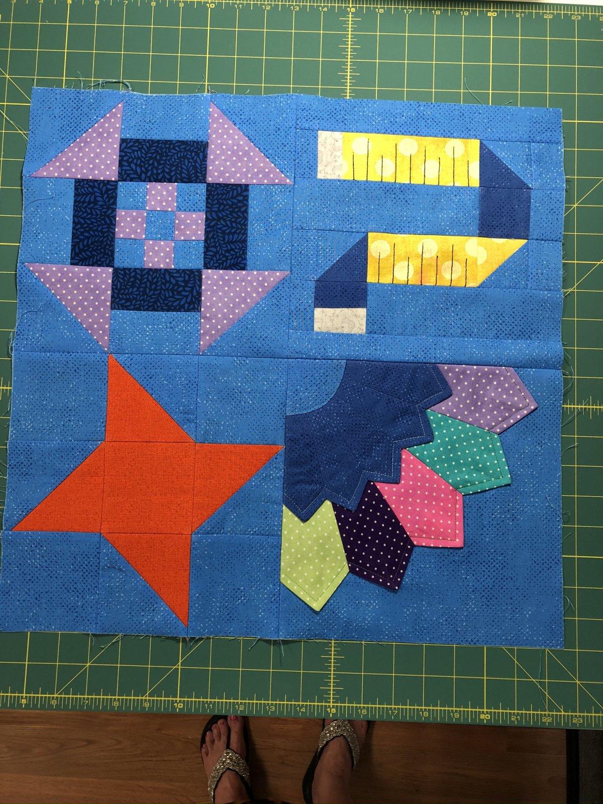 Quilters Trek Fabric Kit 2020
