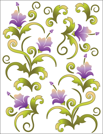 Tattoo Elementz - Violet Blossom