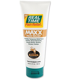 REAL TIME PAIN RELIEF MAXX PAIN RELIEF CREAM 4oz
