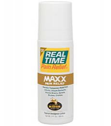 Real Time Pain Relief MAXX Plus 3oz Tube