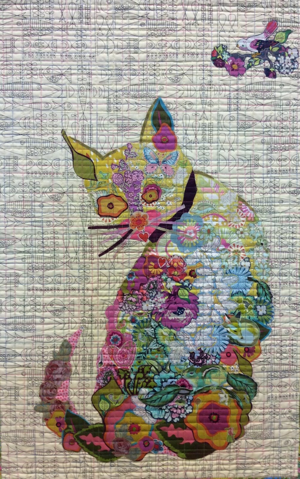 Purrfect Collage Pattern