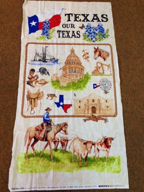 Texas Our Texas Panel