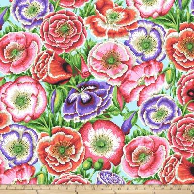 Kaffe Fassett - Poppy Garden Pink