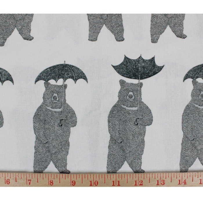 Bearly Raining Linen