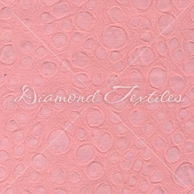 Embossed Cotton - Carnation