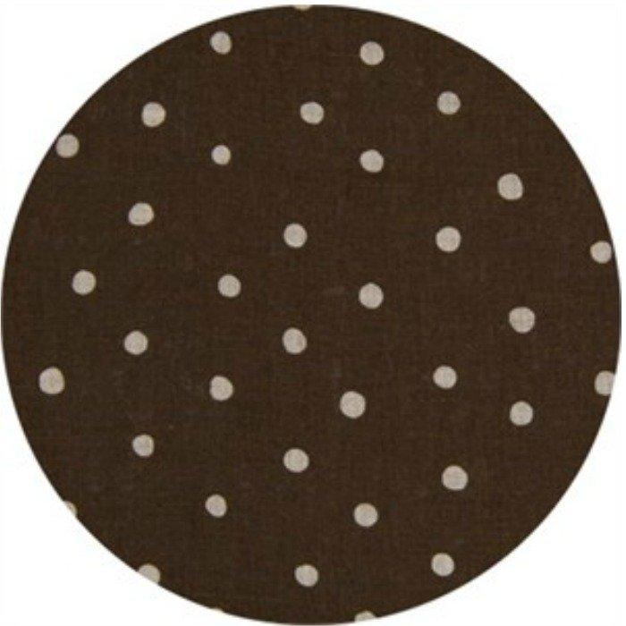 Cosmo Dot Brown Linen