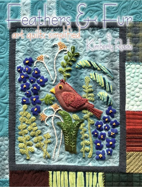 Feathers & Fur Art Quilts Simplified