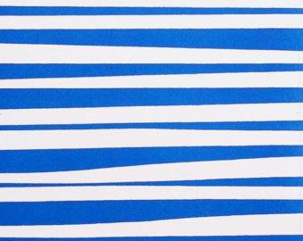 Monkey's Bizness Stockade Stripe - Blue/White