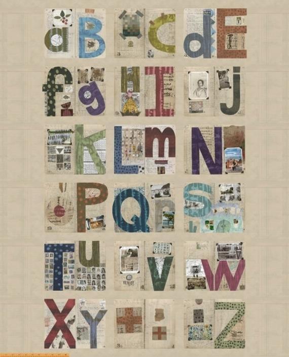 Marcia Derse Studio Alphabet - Alphabet Panel