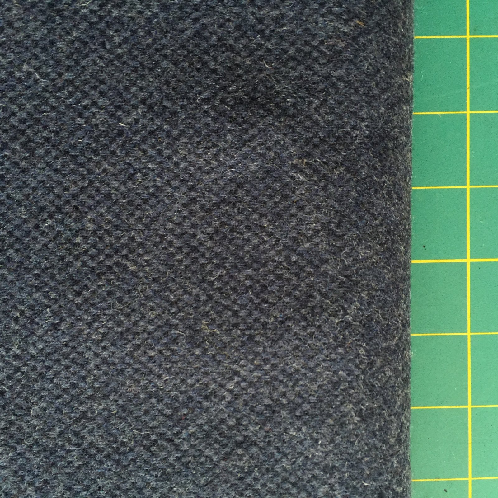 Navy Heathered Wool (60 Wide)