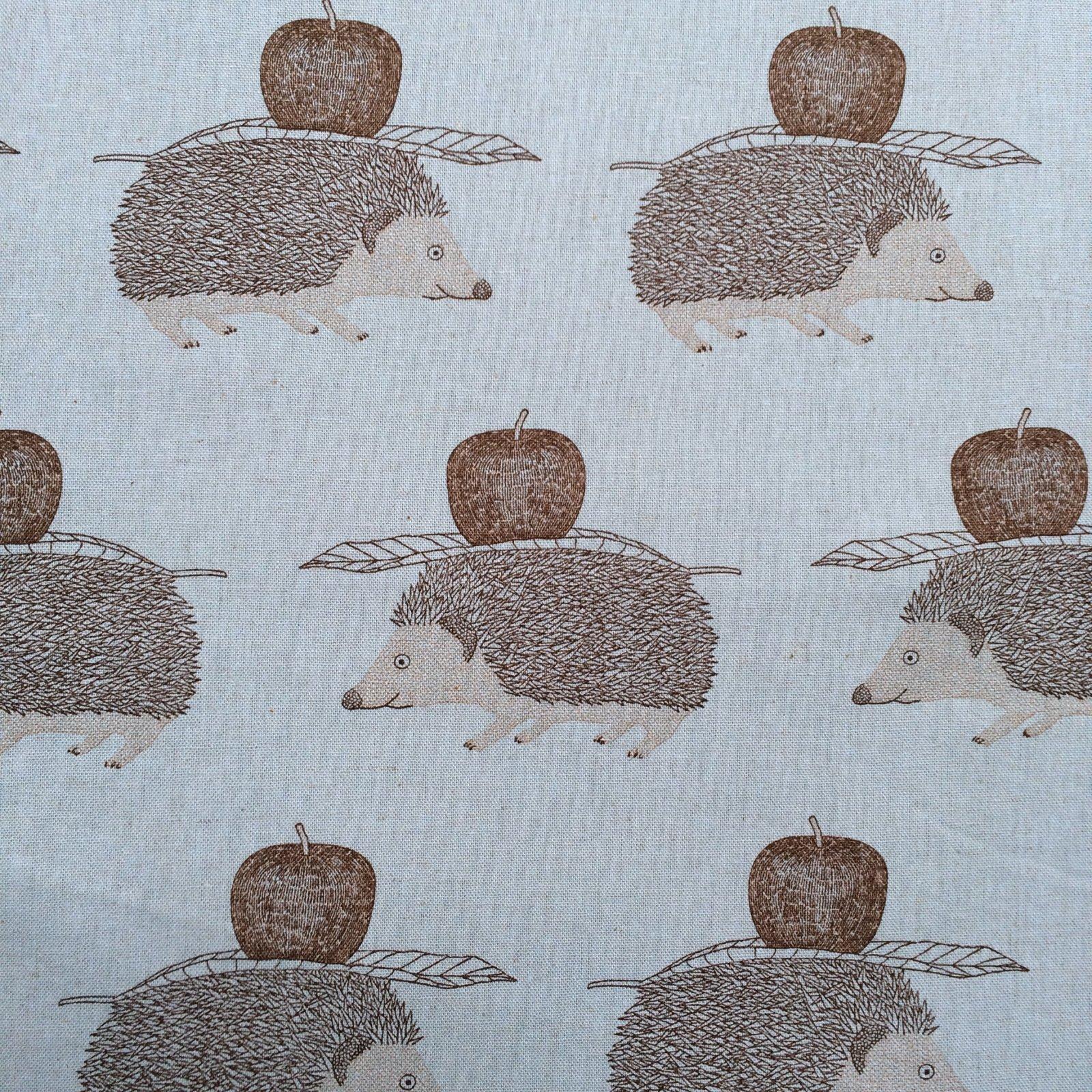 Hedgehogs Linen