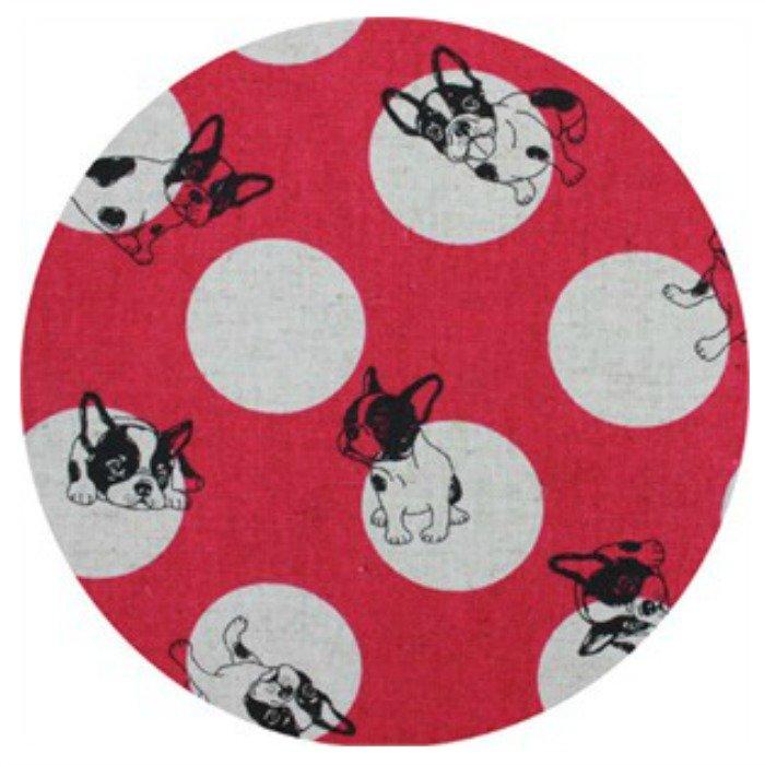 French Bulldog Dot - Fuschia