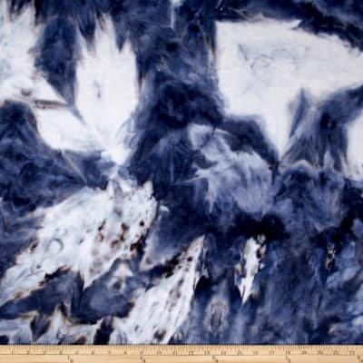 Cuddle Minky - Blue Tie Dye