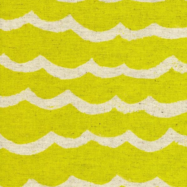 C + S Kujira Waves - Citron Linen