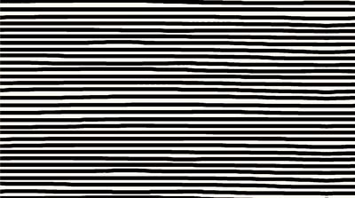 Stof Fabrics - Jersey Print - Horizontal Stripes, Black ST19-387