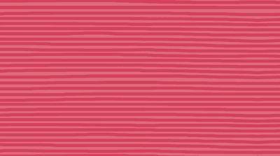 Stof Fabrics - Jersey Print - Horizontal Stripes, Pink ST19-388