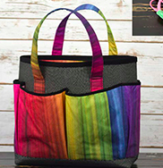 QT Fabrics - Sew & Go XII 27815-X  Take Along Tote Panel - Multi